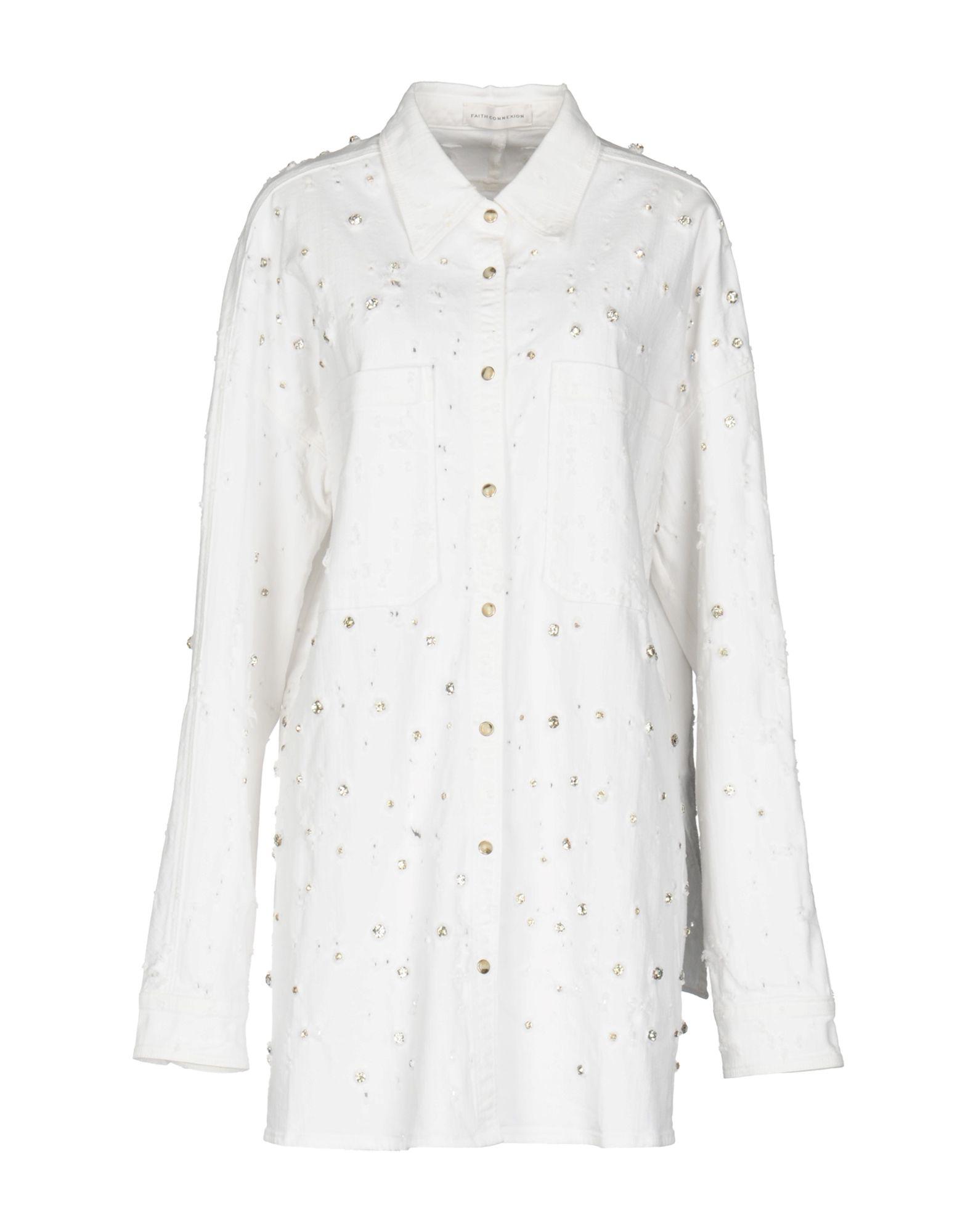Фото FAITH CONNEXION Джинсовая верхняя одежда. Купить с доставкой
