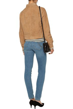 MAJE Mid-rise skinny jeans