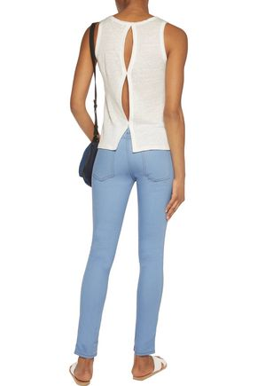 SANDRO Mid-rise skinny jeans