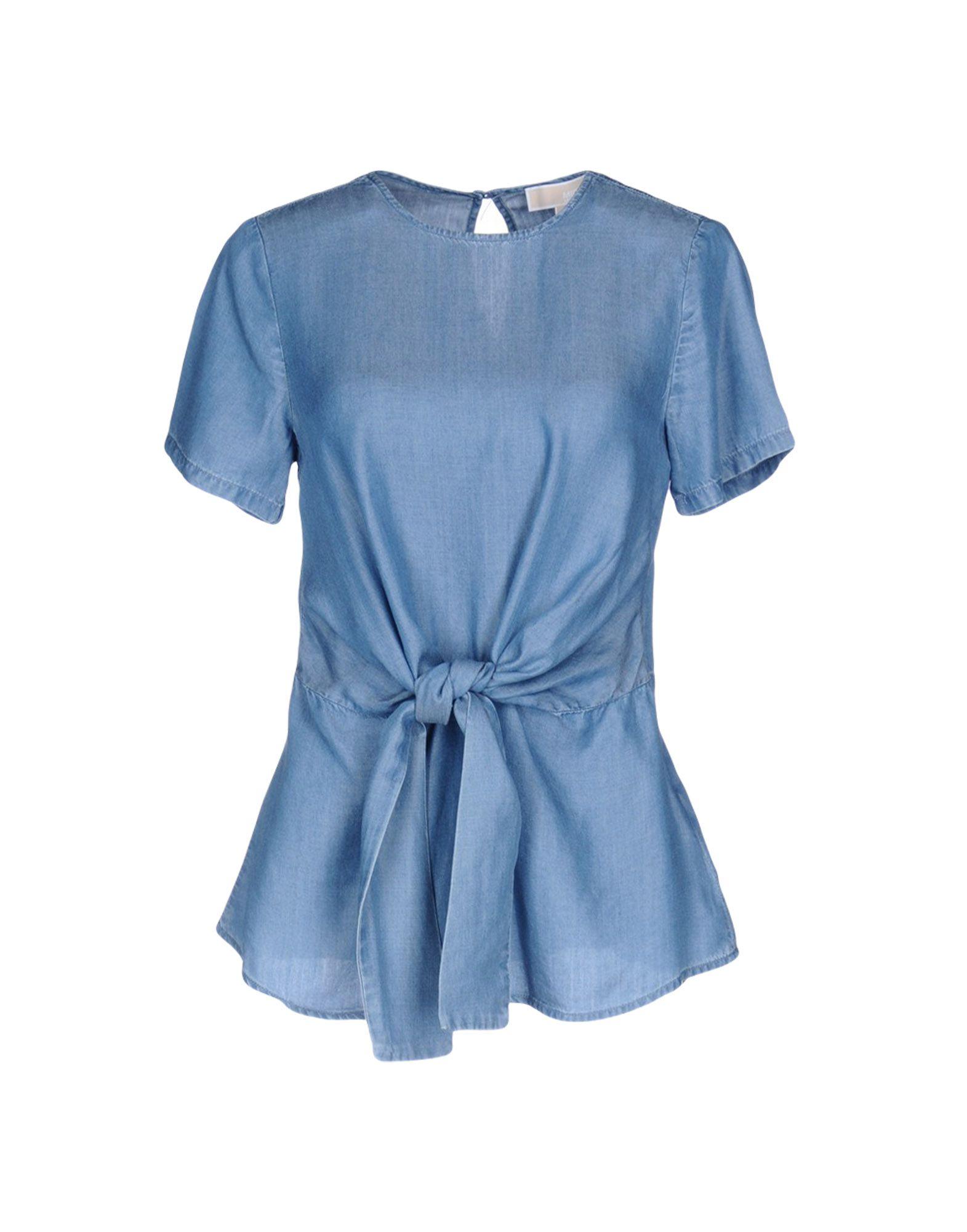 купить MICHAEL MICHAEL KORS Джинсовая рубашка по цене 7000 рублей