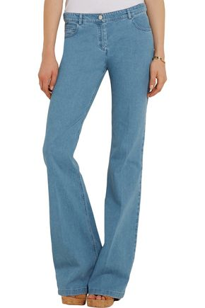 MICHAEL KORS COLLECTION Mid-rise flared bootcut jeans
