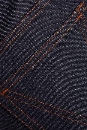 VANESSA SEWARD Mobile cropped high-rise straight-leg jeans