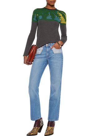 SONIA RYKIEL Mid-rise straight-leg jeans