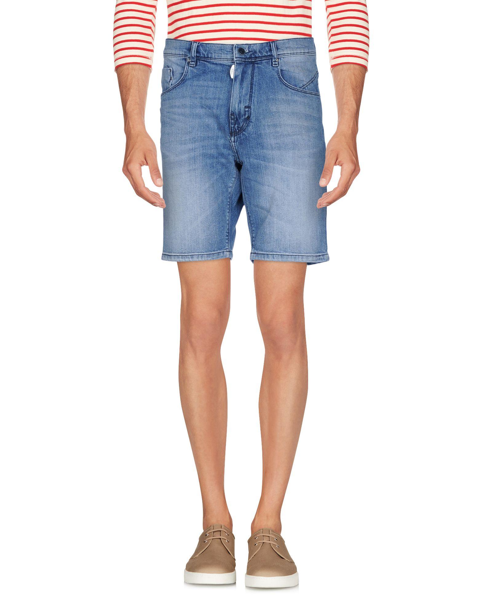 《期間限定セール中》ANTONY MORATO メンズ デニムバミューダパンツ ブルー 30 コットン 99% / ポリウレタン 1%