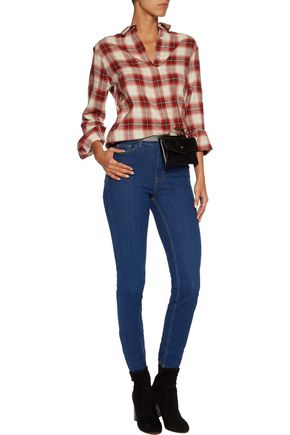 MAJE High-rise skinny jeans