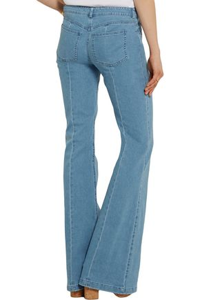 MICHAEL KORS COLLECTION Mid-rise flared jeans