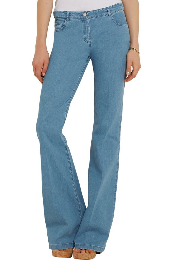 Mid-rise flared jeans | MICHAEL KORS COLLECTION | Sale up to 70% off | THE  OUTNET