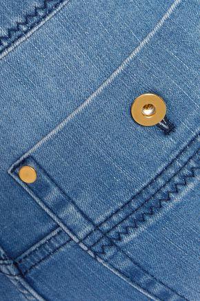 •ELLERY• Monroe high-rise straight-leg jeans