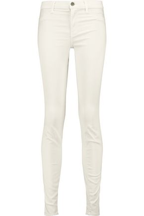 J BRAND + Theory Super Skinny mid-rise skinny jeans