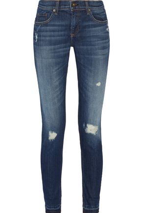 RAG & BONE/JEAN Dre distressed boyfriend jeans