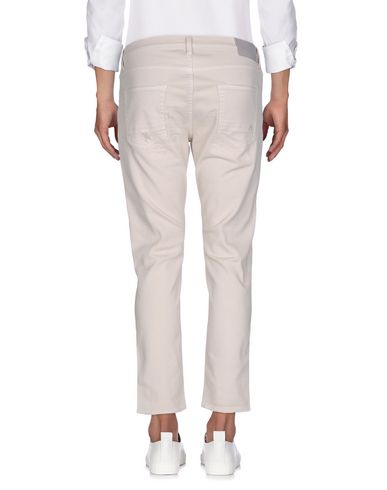 Фото 2 - Джинсовые брюки от AGLINI светло-серого цвета