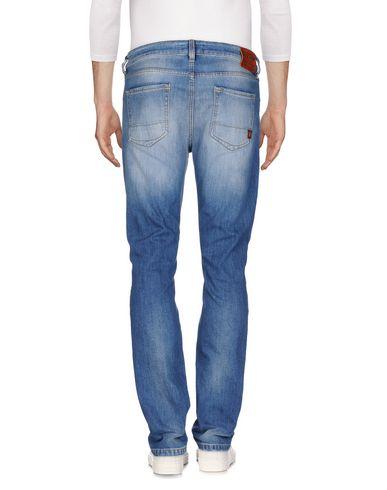 Фото 2 - Джинсовые брюки от UNIFORM синего цвета
