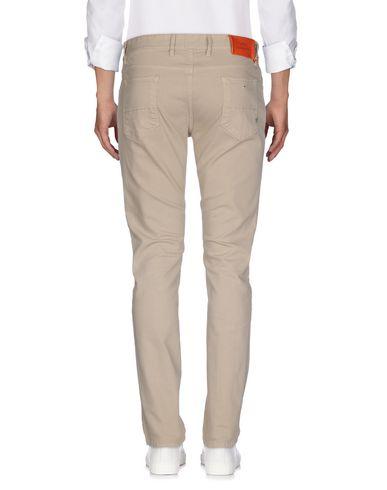 Фото 2 - Джинсовые брюки от PT05 бежевого цвета