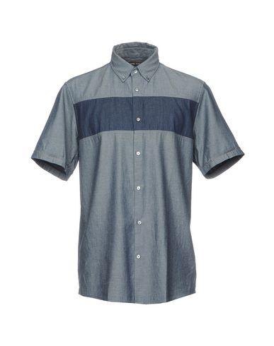 Фото - Джинсовая рубашка от MICHAEL KORS MENS синего цвета