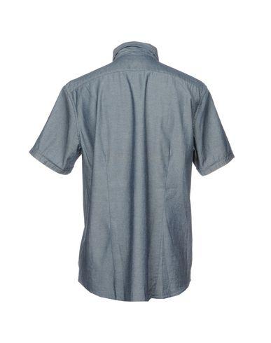 Фото 2 - Джинсовая рубашка от MICHAEL KORS MENS синего цвета