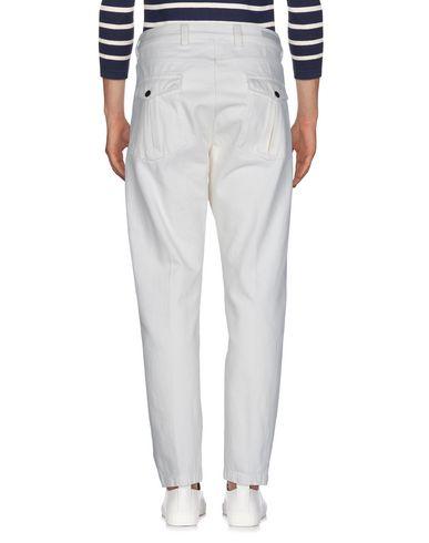 Фото 2 - Джинсовые брюки от ELEVENTY цвет слоновая кость
