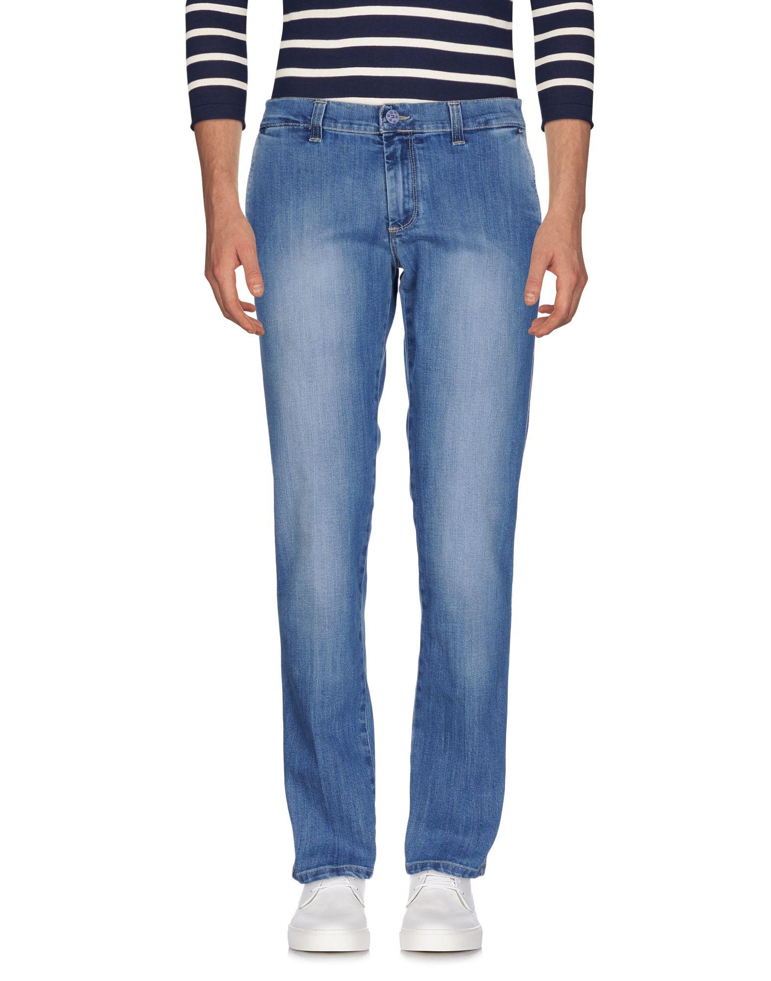 цена ALESSANDRO GILLES Джинсовые брюки онлайн в 2017 году