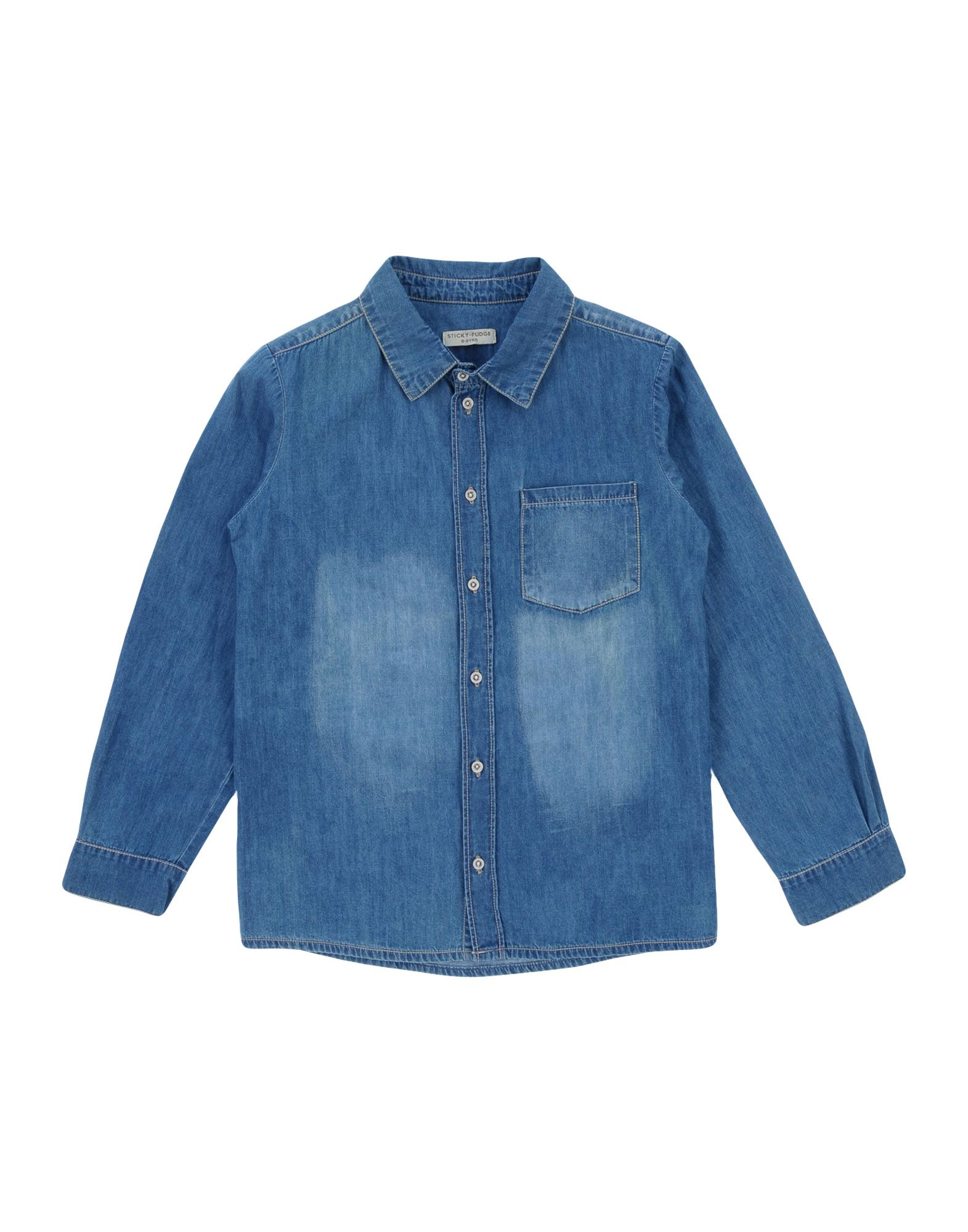 STICKY FUDGE | STICKY FUDGE Denim shirts | Goxip