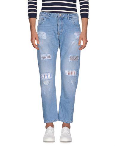 Фото - Джинсовые брюки от DIRTYPAGE синего цвета