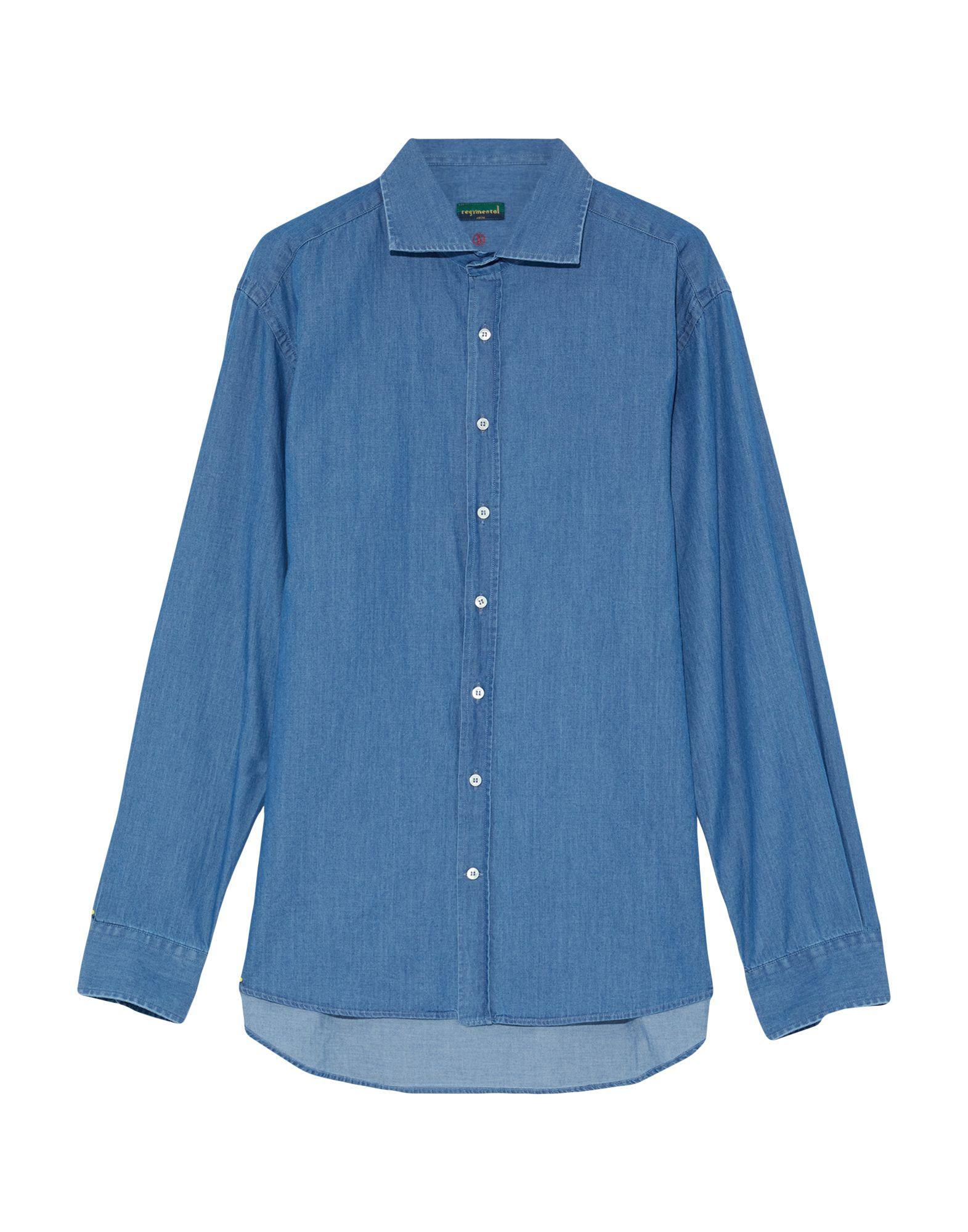 REGIMENTAL Джинсовая рубашка цена 2017