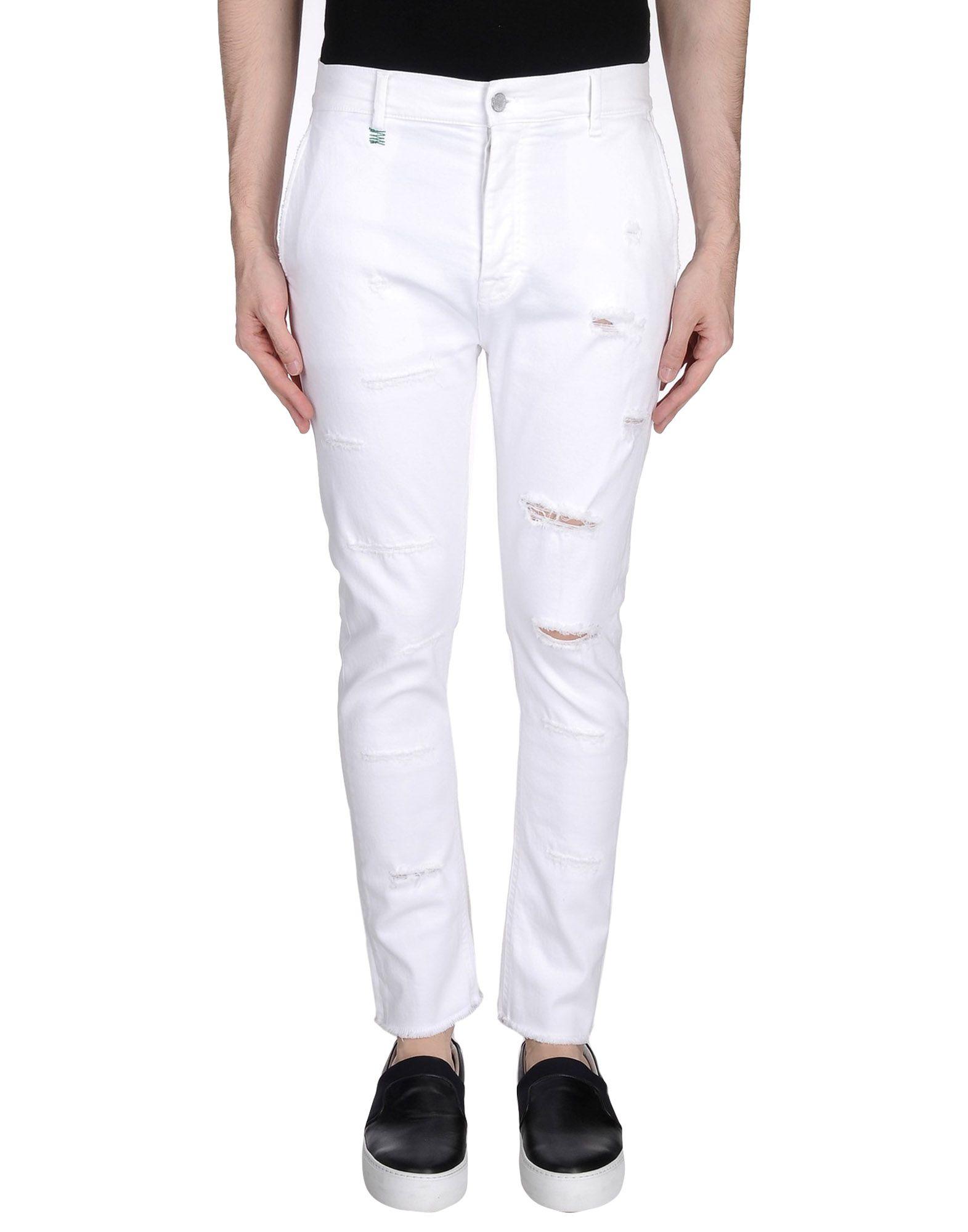 DANIELE ALESSANDRINI HOMME Джинсовые брюки цена 2017
