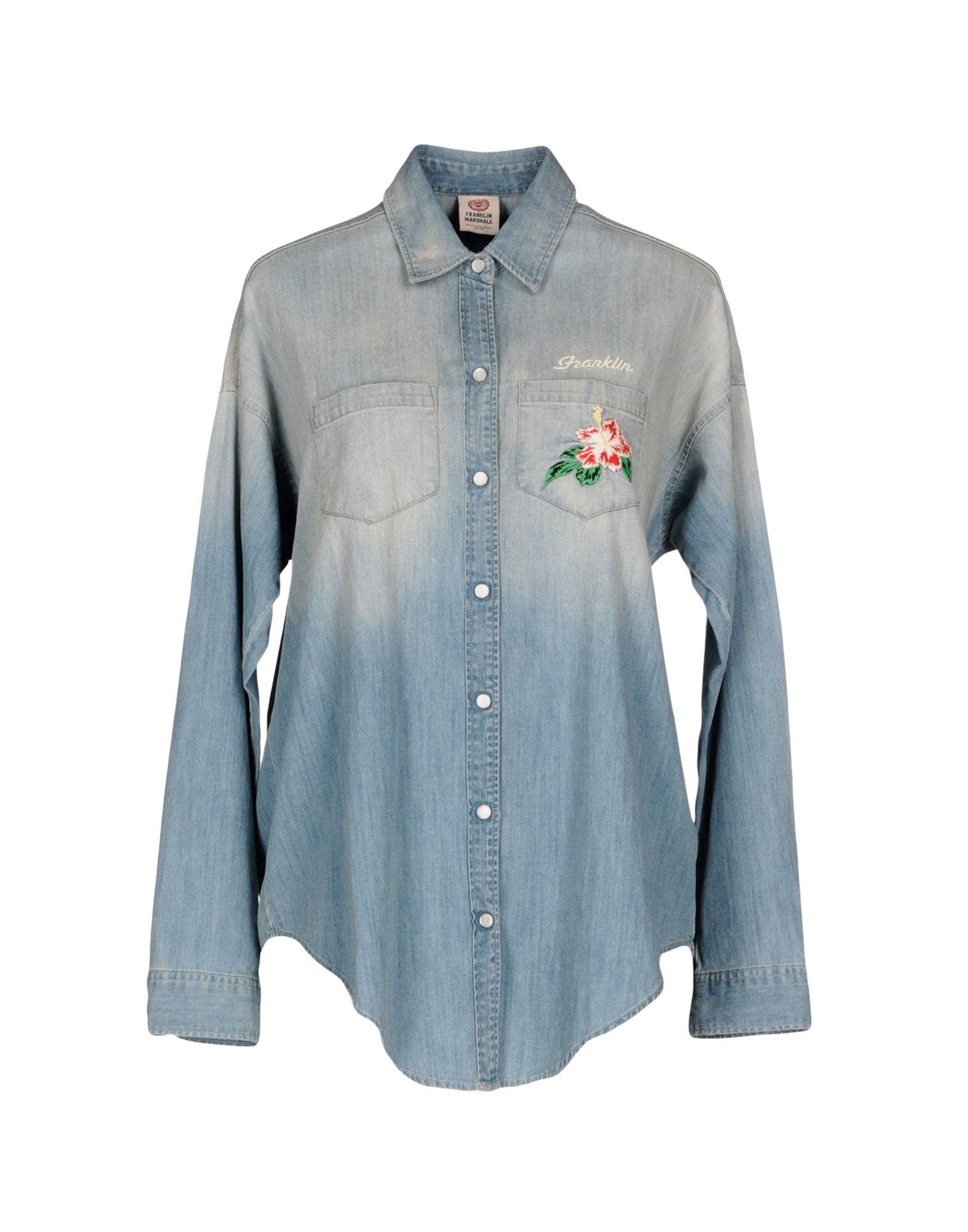 FRANKLIN & MARSHALL Джинсовая рубашка рубашка franklin