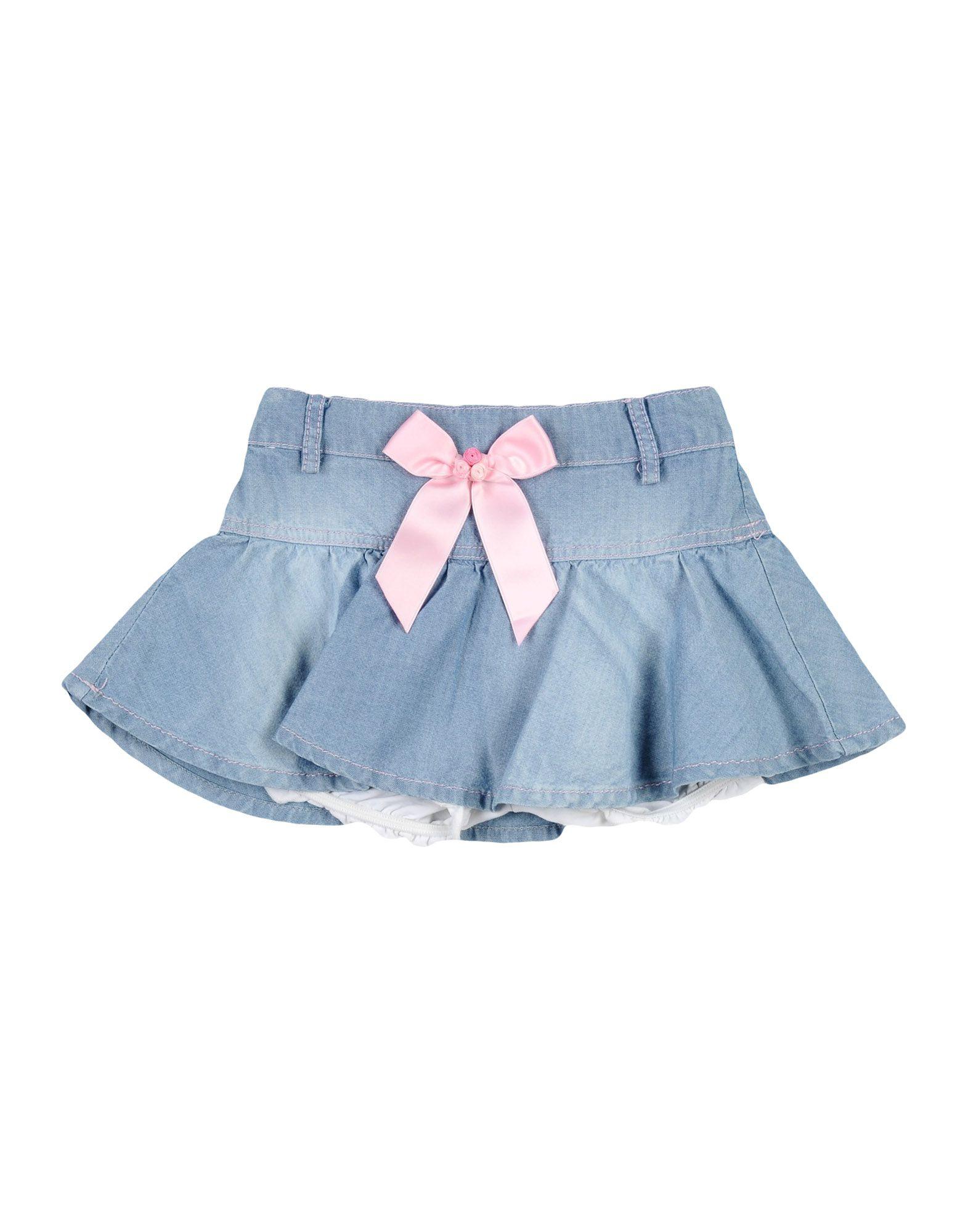 MISS BLUMARINE JEANS Джинсовая юбка miss blumarine baby 397995