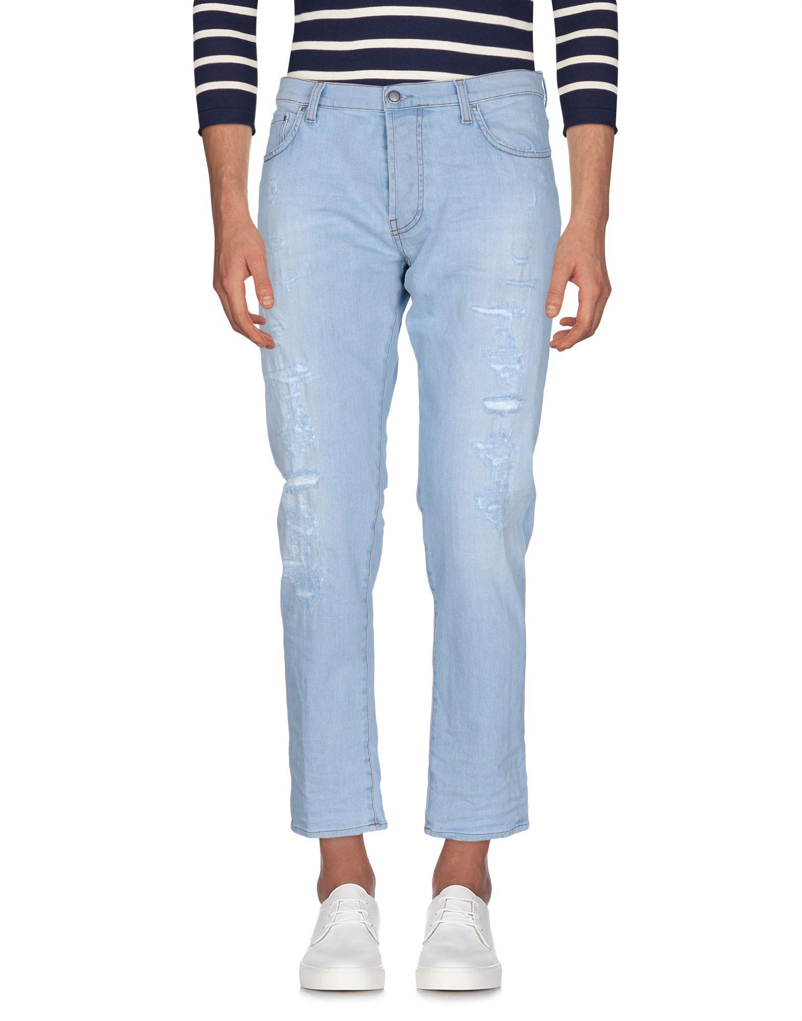 AGLINI Джинсовые брюки женские брюки лэйт светлый размер 50
