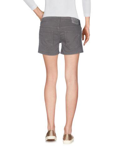 Фото 2 - Джинсовые шорты цвета хаки