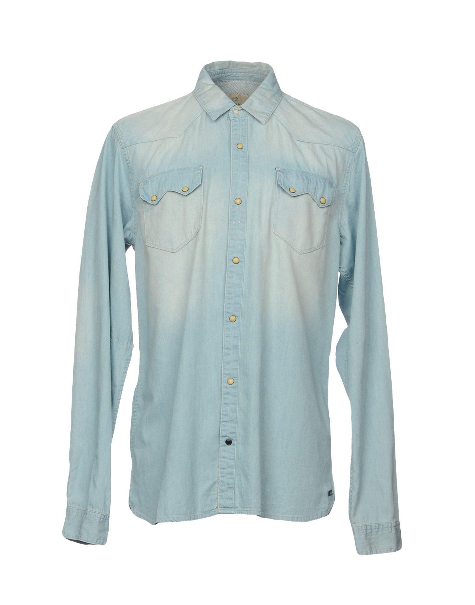 SCOTCH & SODA Джинсовая рубашка рубашка scotch