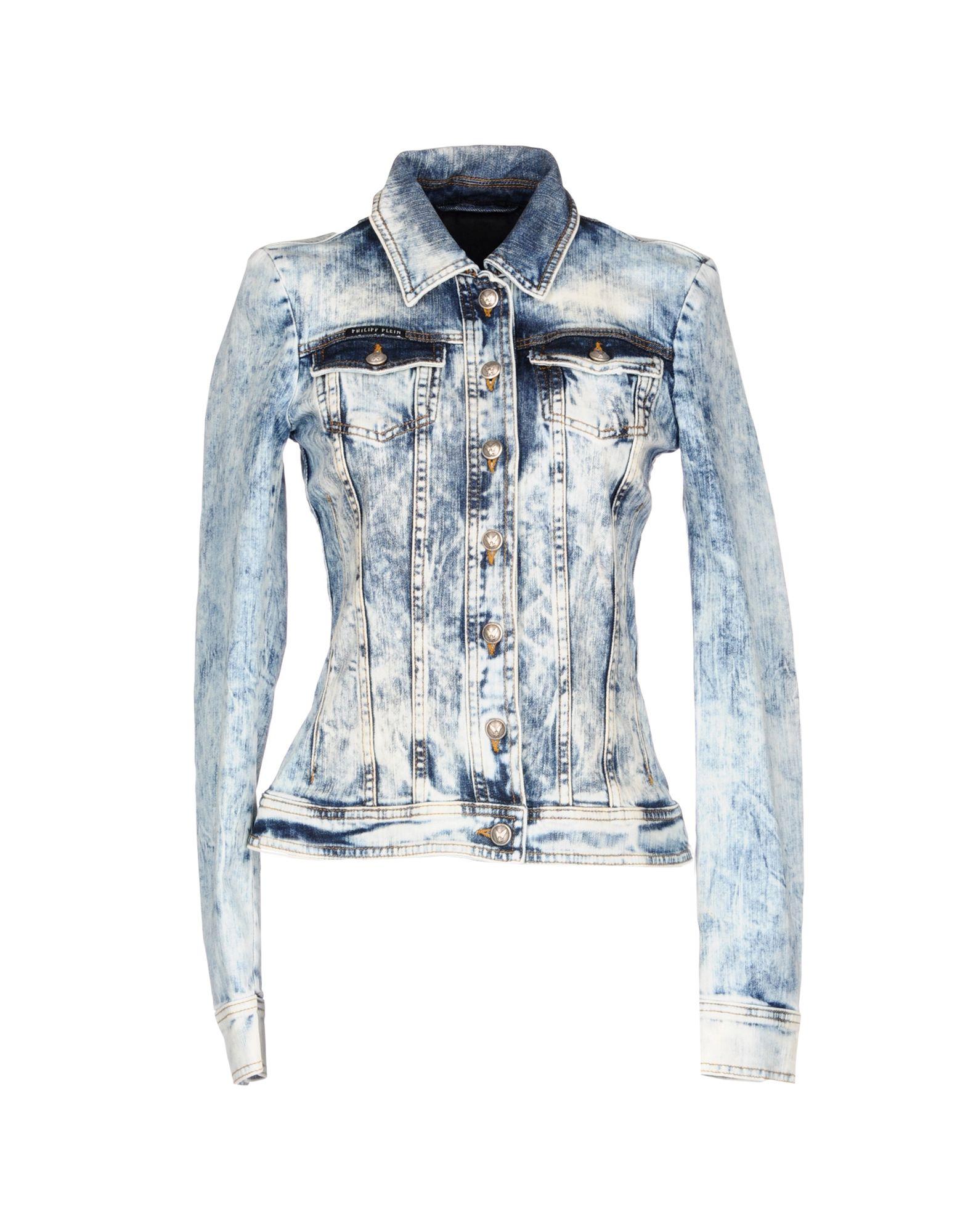 PHILIPP PLEIN Джинсовая верхняя одежда philipp plein джинсовая верхняя одежда