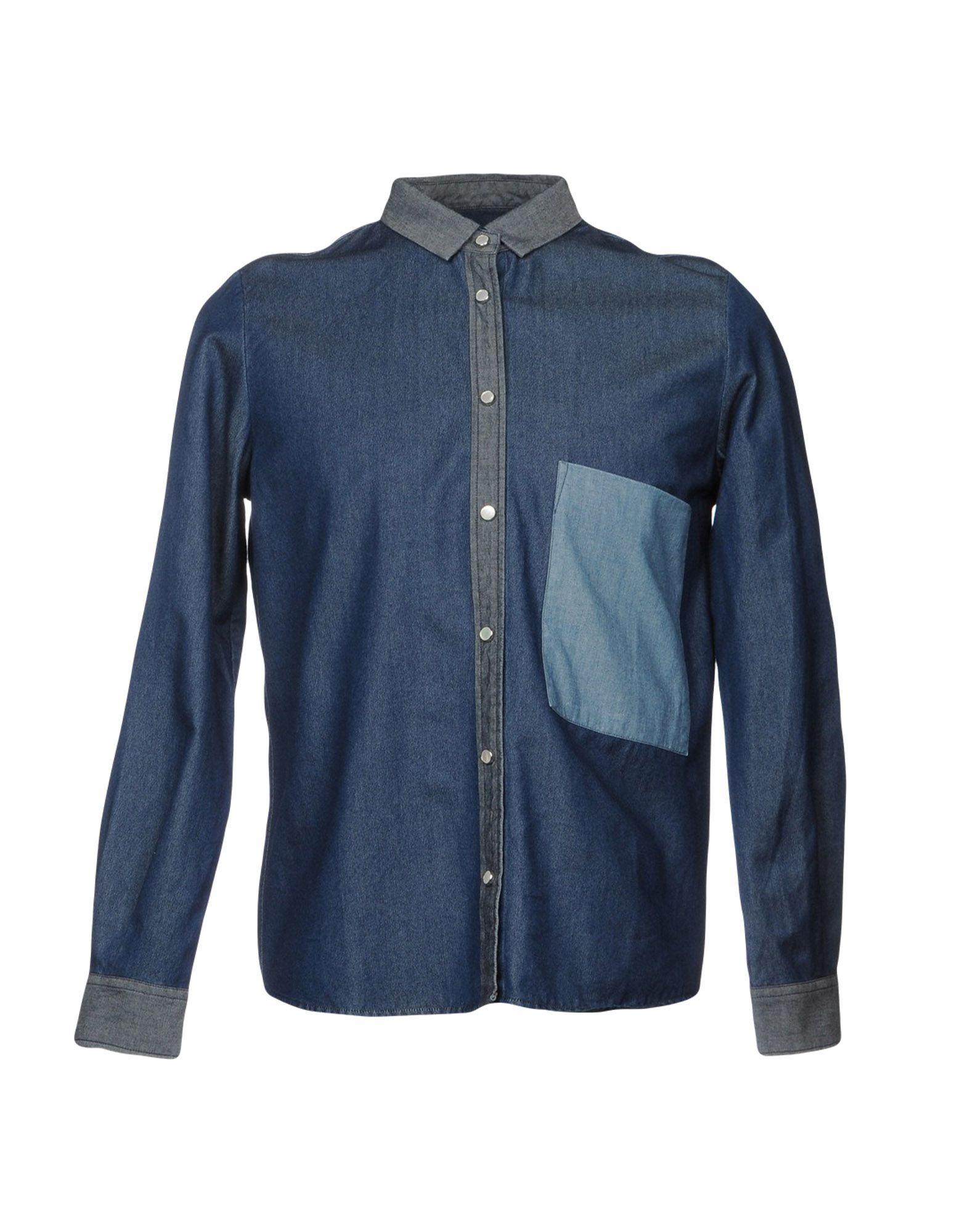 GOLDEN GOOSE DELUXE BRAND Джинсовая рубашка golden goose deluxe brand хлопковая рубашка