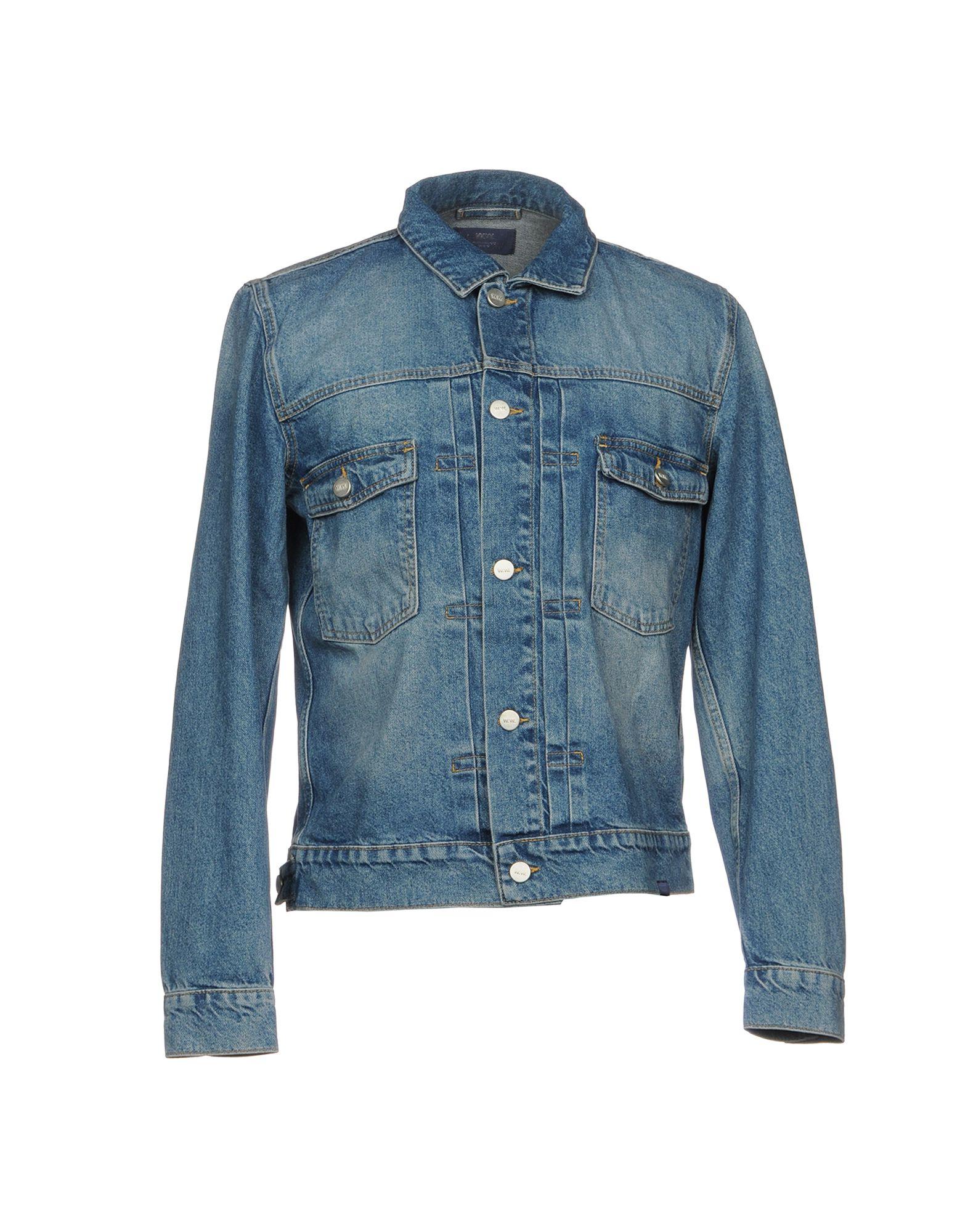 WOOD WOOD Джинсовая верхняя одежда wood wood джинсовая верхняя одежда