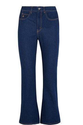 ATTICO Rosa high-rise flared jeans