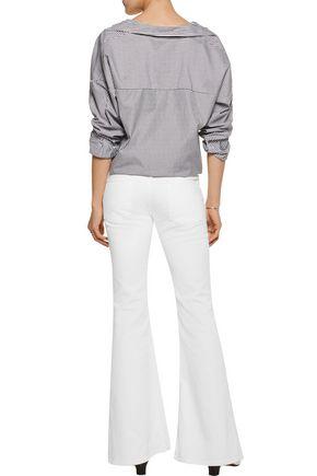 ACNE STUDIOS Mello mid-rise flared jeans