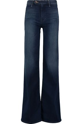 MOTHER The Tab Socialite mid-rise wide-leg jeans