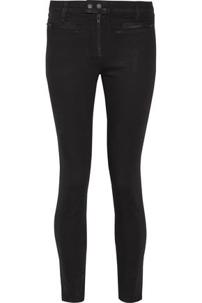 RAG & BONE Ryder coated high-rise skinny jeans