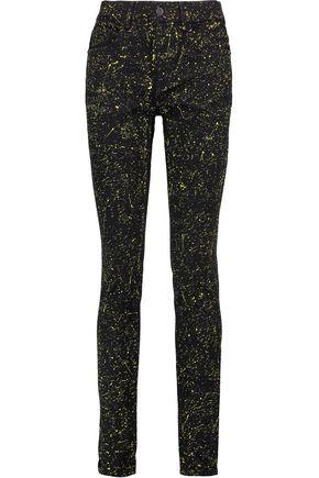 PROENZA SCHOULER High-rise printed skinny jeans