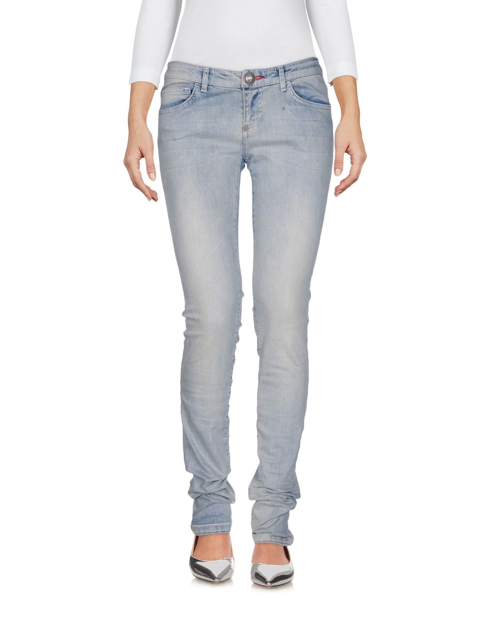 Фото PHILIPP PLEIN Джинсовые брюки. Купить с доставкой