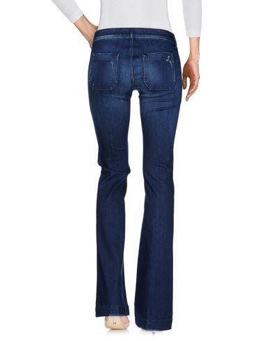 Фото 2 - Джинсовые брюки от THE SEAFARER синего цвета