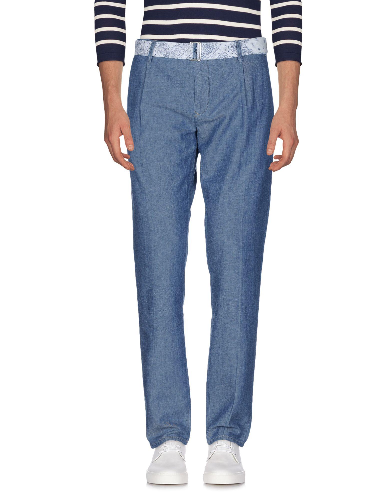 SIVIGLIA Denim Pants in Blue