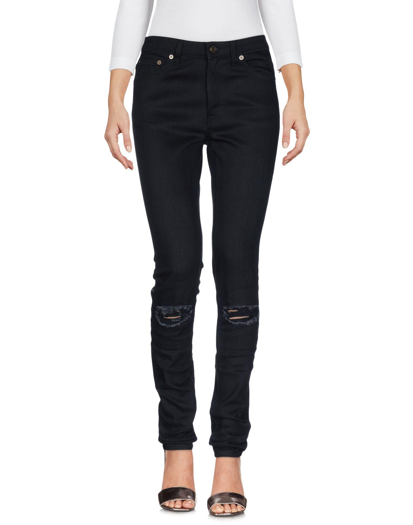 SAINT LAURENT Джинсовые брюки dismero джинсовые брюки