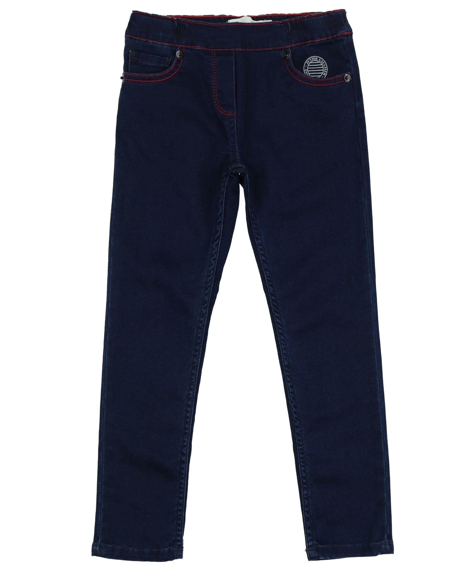 JUNIOR GAULTIER Джинсовые брюки junior gaultier толстовка