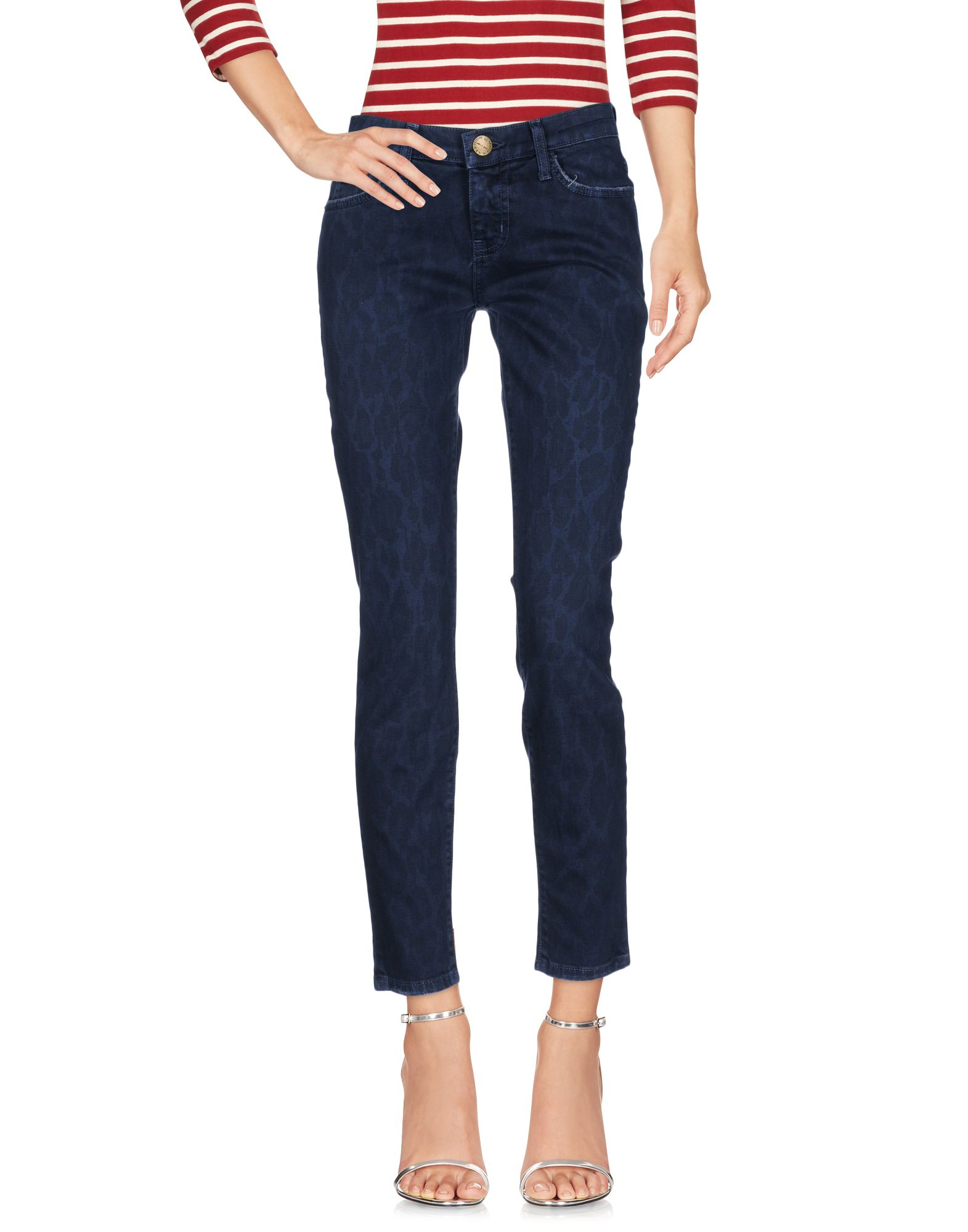 CURRENT/ELLIOTT Damen Jeanshose Farbe Taubenblau Größe 1