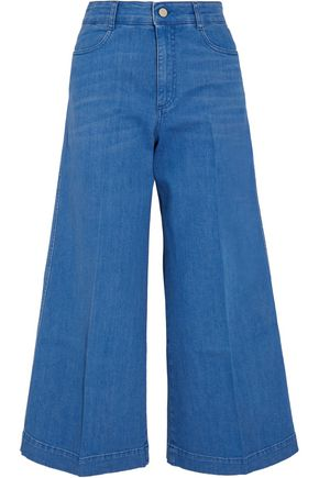 STELLA McCARTNEY Cropped high-rise flared jeans