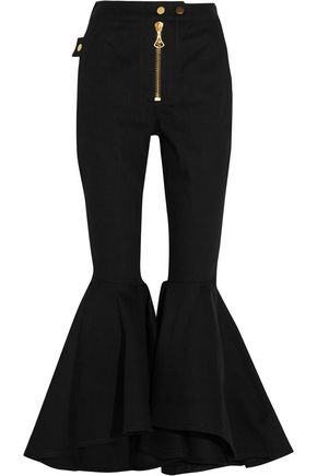 •ELLERY• Alejandro cropped high-rise flared jeans