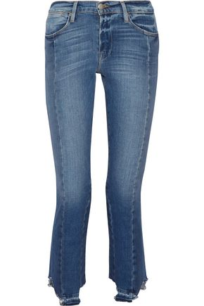 FRAME High Mix straight-leg jeans