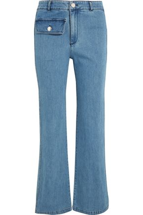 SEE BY CHLOÉ High-rise straight-leg jeans