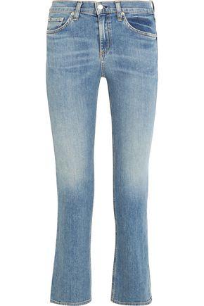 RAG & BONE/JEAN Mid-rise straight-leg jeans