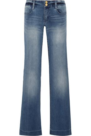 MICHAEL MICHAEL KORS Mid-rise flared jeans